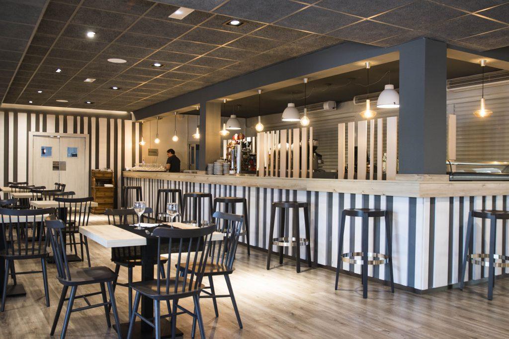 Construcción bar la huerta del Figueral Zaragoza Ámbito d&d