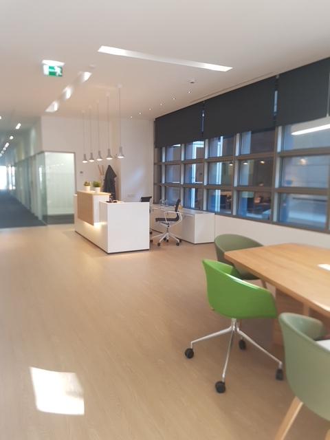Construcción centro negocios Regus Zaragoza Ámbito d&d