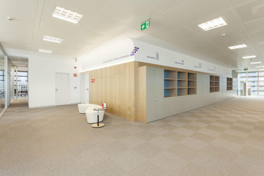 Construcción Oficinas Chemieuro Zaragoza Ámbito d&d