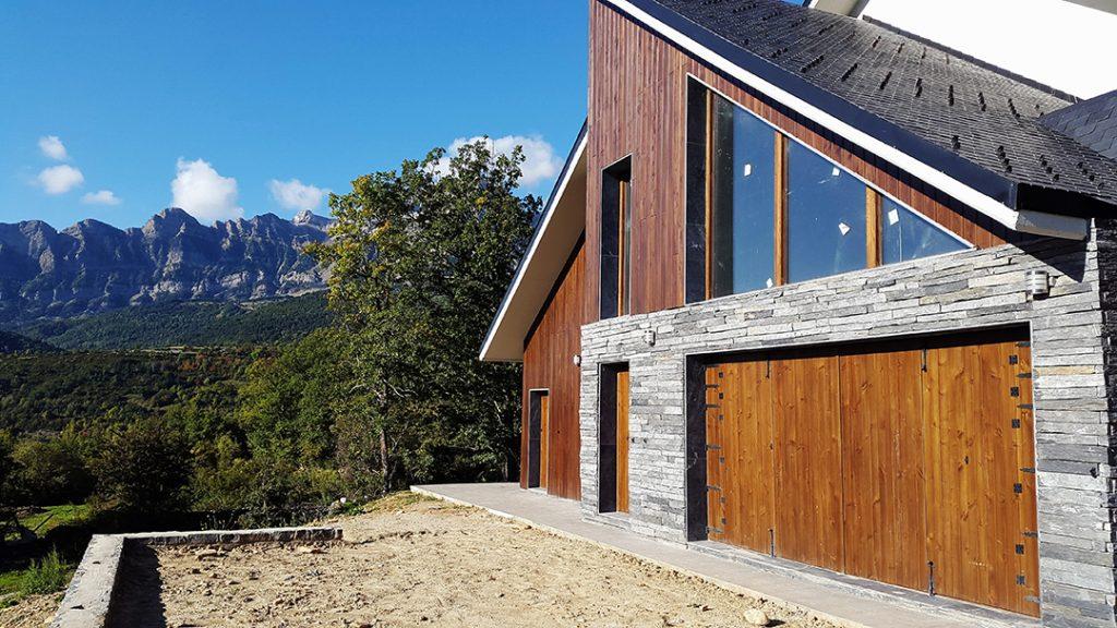 Construcción vivienda Pirineo Ámbito d&d