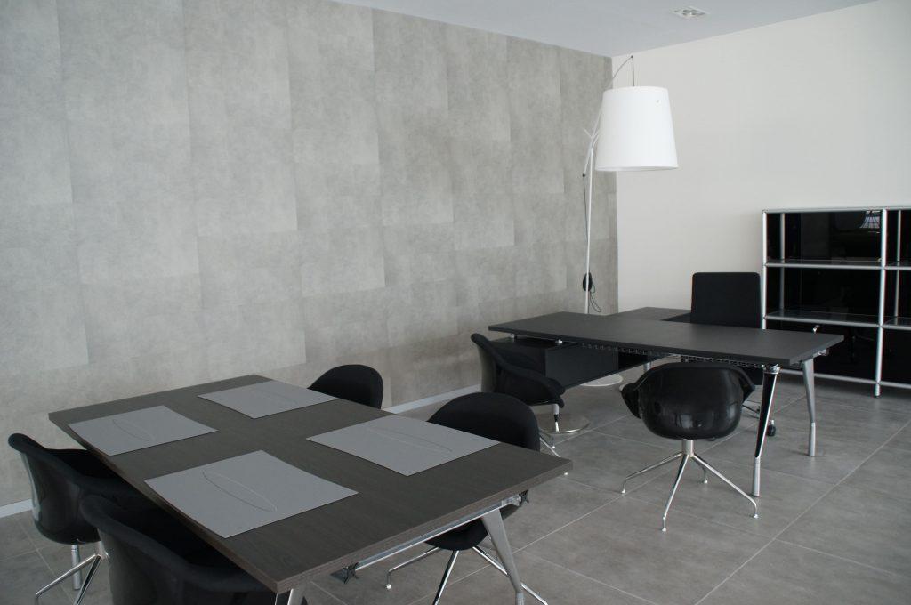 Interiorismo mobiliario equipamiento autopremium Zaragoza Ámbito d&d