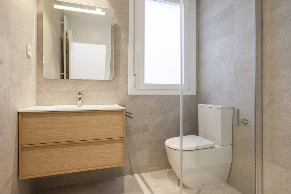 Reforma baño vivienda Fernando el Católico Zaragoza Ámbito d&d