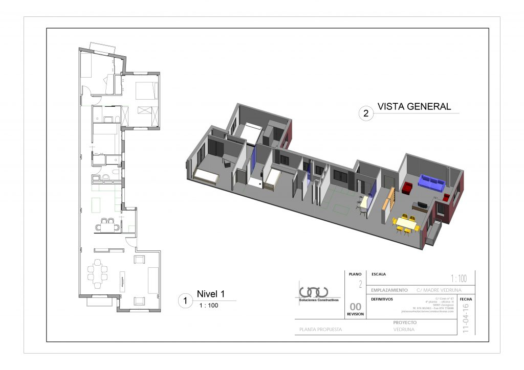 Reforma Integral Casa Zaragoza Ámbito d&d