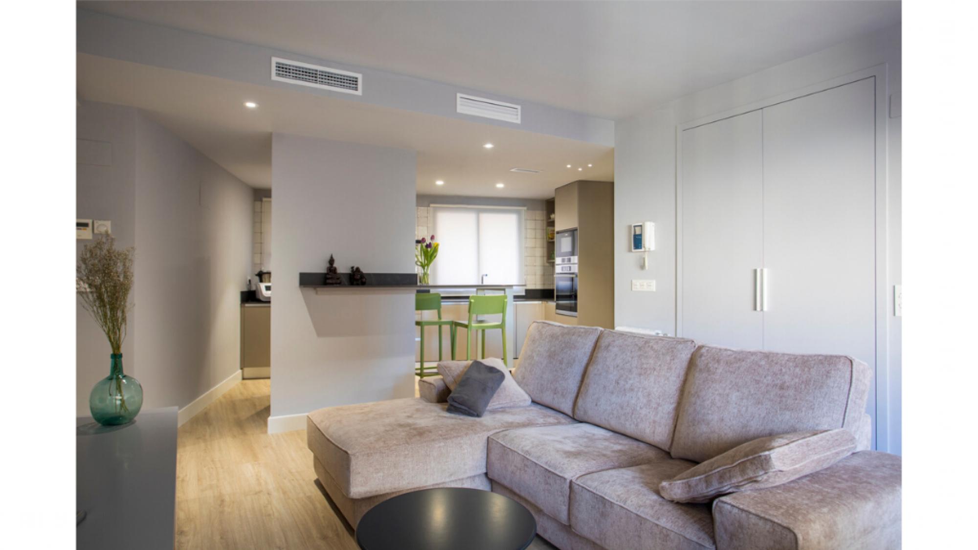 Reforma integral de vivienda, nuevo hogar en Zaragoza · Ámbito d&d